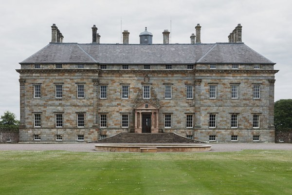 The historic Kinross House near Edinburgh in Scotland