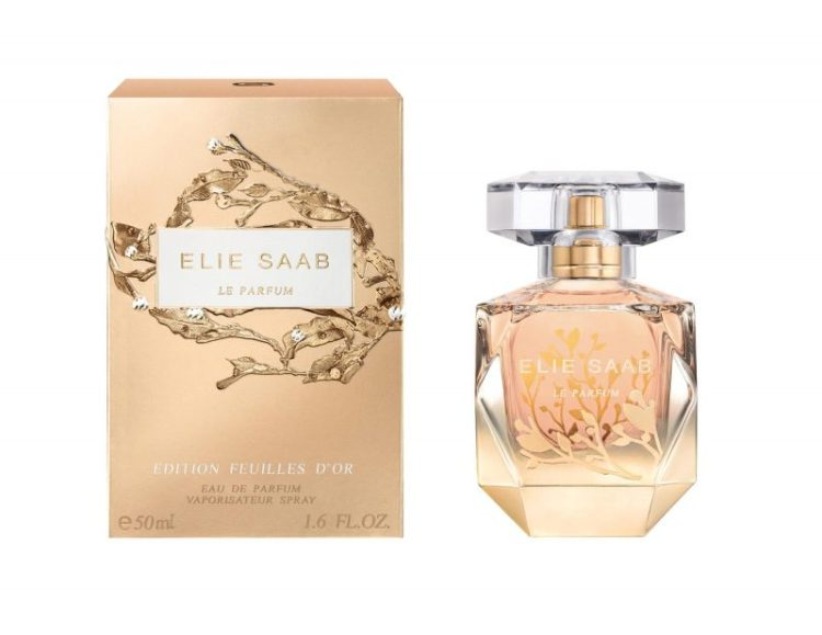 Ellie Saab Limited Edition Feuilles-D'or
