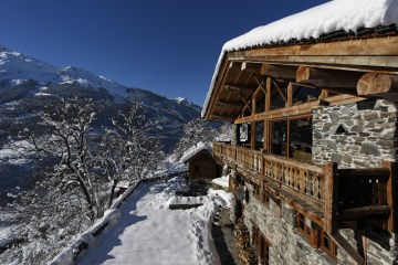 View from Chalet Merlot St Foy