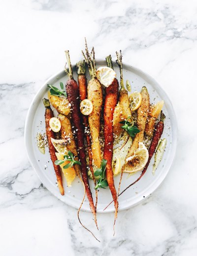 Za'atar Roasted Carrots at XYST