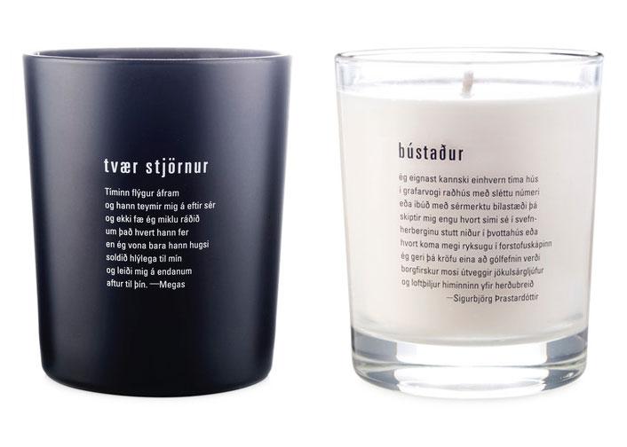 Sóley Organics candles