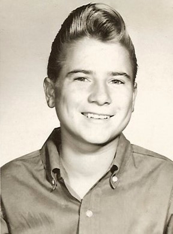 Eighth Grade photo, Junior High School, Lawton, Oklahoma 1961. Photograph: courtesy Cyndy Viliano