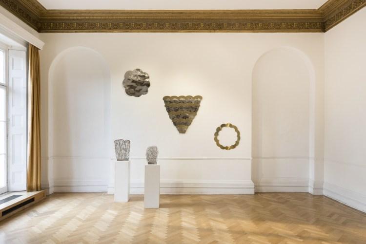 Installation View_Pietro Consagra at the Italian Cultural Institute. Courtesy of ARTUNER