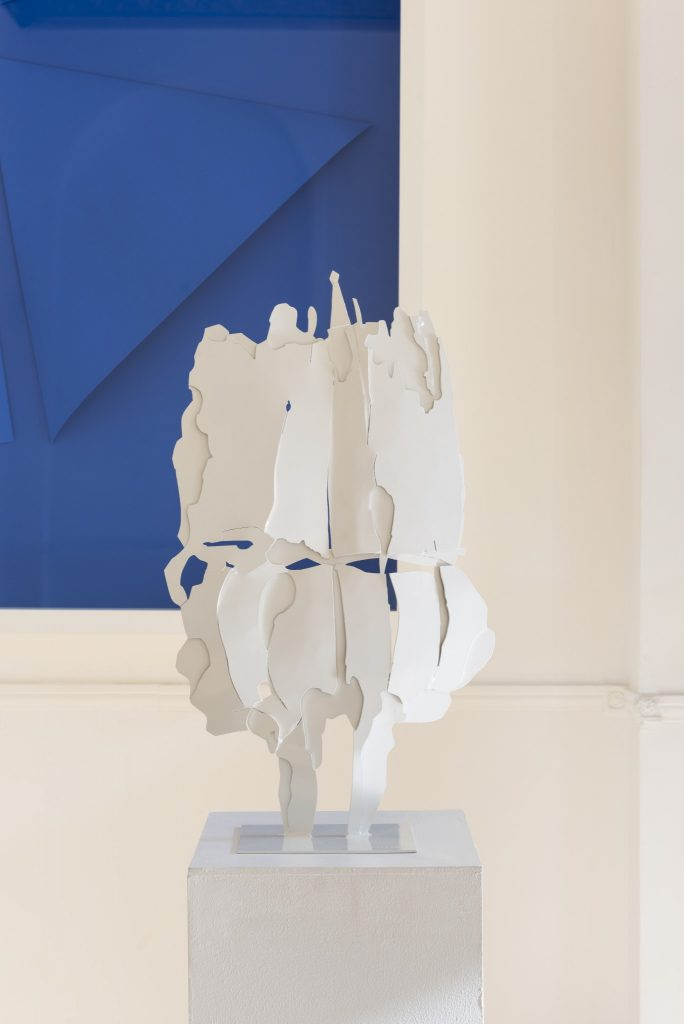 Installation View_Pietro Consagra at the Italian Cultural Institute_Courtesy of ARTUNER