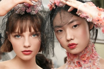 Chanel ss18 couture beauty