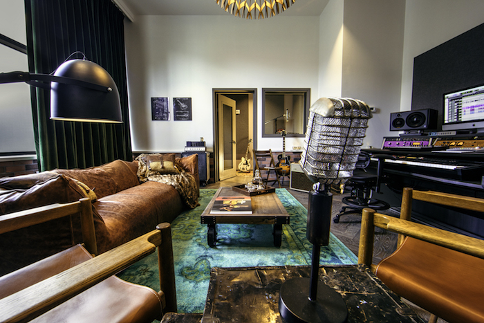 A Writers' Room at Hutton Hotel in Nashville (US) - photo credit Katie Kauss