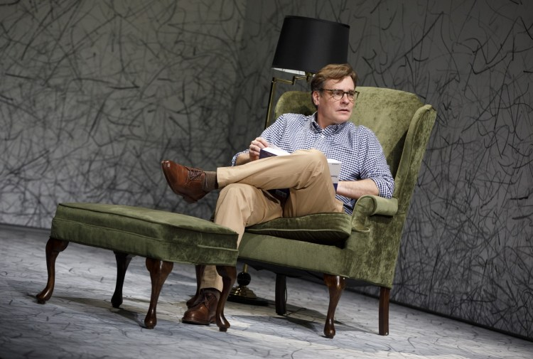 Robert Sean Leonard in Edward Albee's At Home at the Zoo - Homelife & The Zoo Story at Signature Theatre.