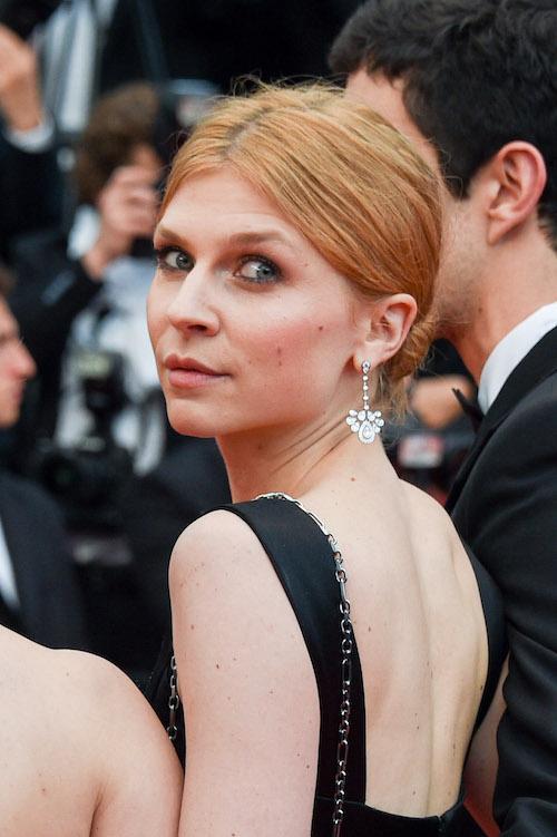 Clémence Poésy CHAUMET JEWELLERY Cannes 2018
