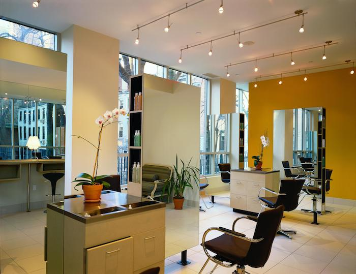 The hair salon at Paul Labreque