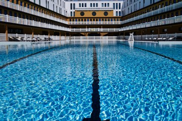 Molitor Paris pool by day