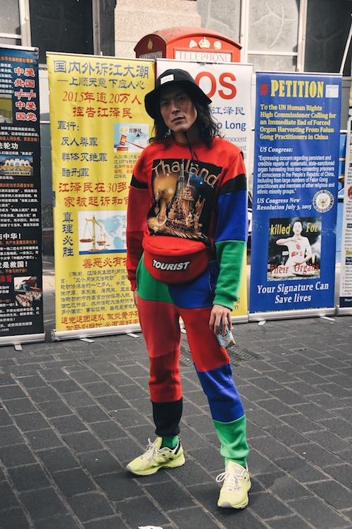 LFWM SS19 - Street Style - Yu Masui