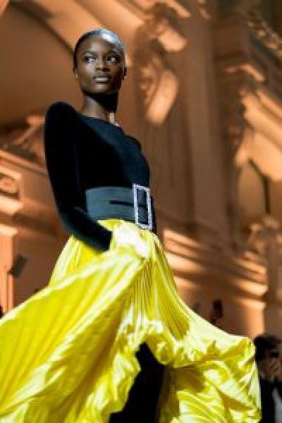 Alexandre Vauthier Paris Couture 2018 by Teodora koeva