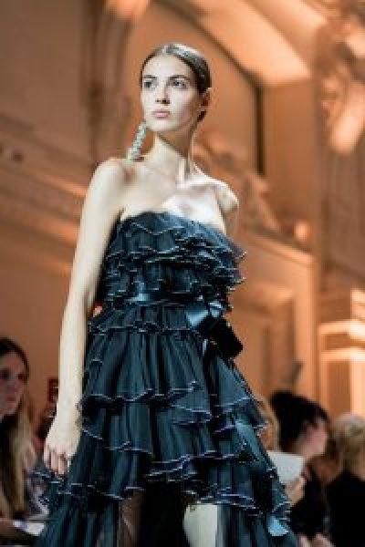 Alexandre Vauthier at Paris Couture 2018 by Teodora koeva