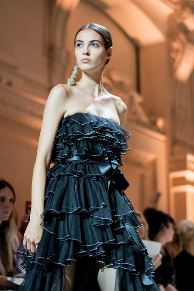 Alexandre Vauthier at Paris Couture 2018 by Teodora koeva