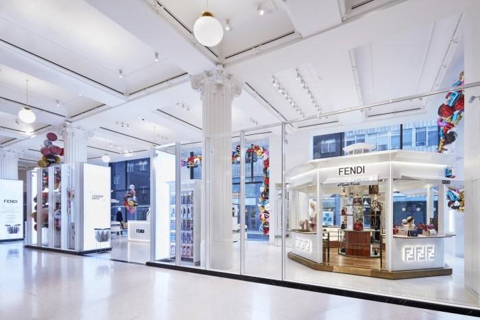2ddd95aee548 Fendi takes over the Selfridges Corner Shop – The Glass Magazine