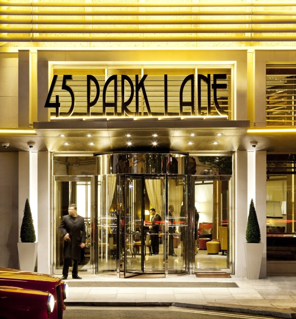 45 Park Lane, home to Wolfgang Puck's CUT