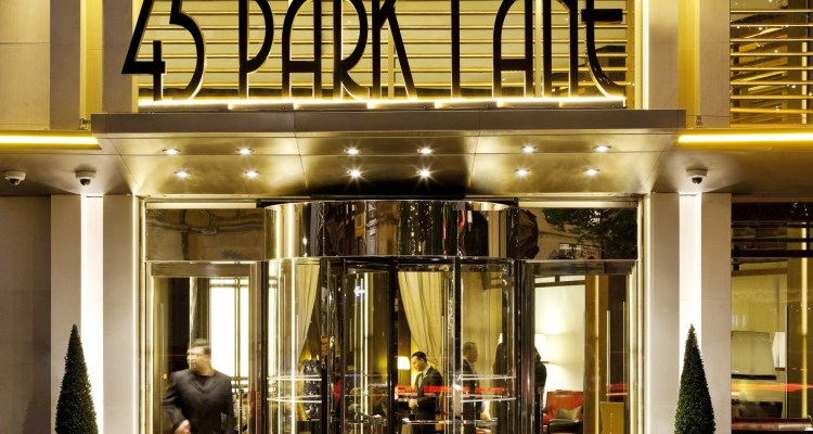 45 Park Lane, home to Wolfgang Puck's restaurant CUT