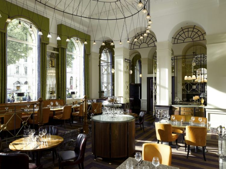 The Balcon - the striking restaurant at Sofitel London St. James