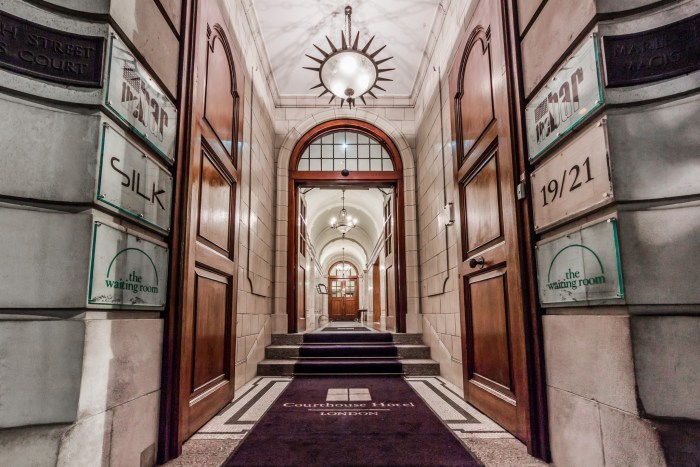 The Courthouse Hotel Law And Luxury Comes To Soho The Glass Magazine