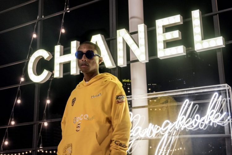 Chanel to release capsule collection in collaboration with Pharrell Williams