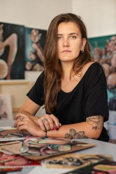Glass interviews artist Alina Zamanova – The Glass Magazine