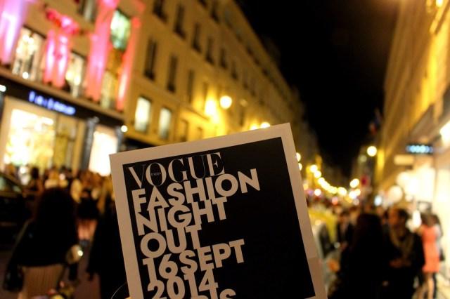Vogue Fashion Night Out F/W 2014, Fashion Week, Paris
