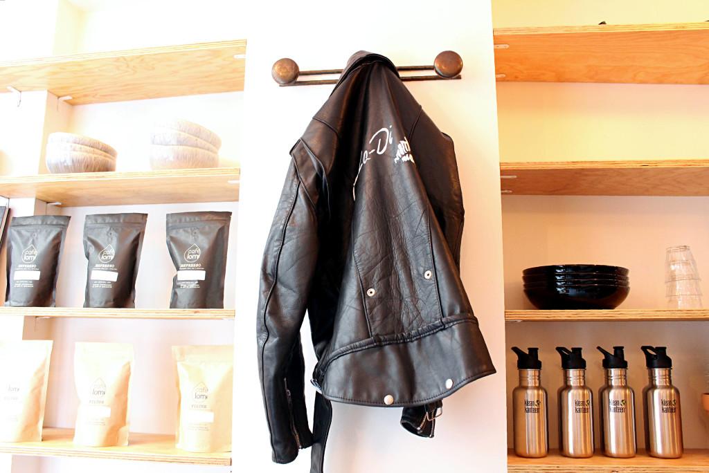Ob La Di Paris leather jacket