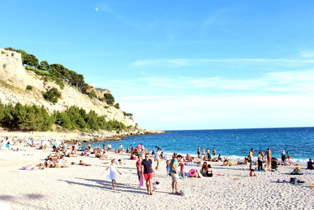 The Glittering Unknown, Calanques and Cassis, beach plage Cassis