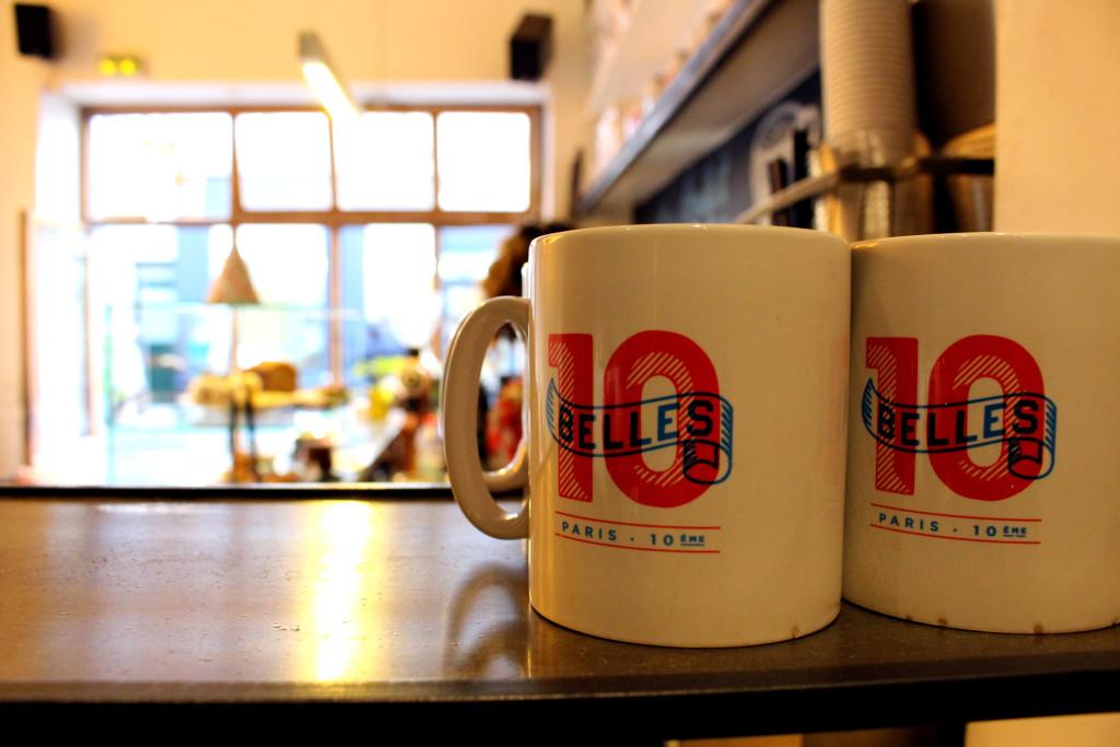 The Glittering Unknown, Ten Belles, coffee mugs