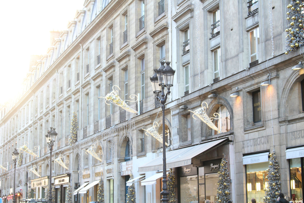 Rue Royale, Christmas in Paris, The Glittering Unknown