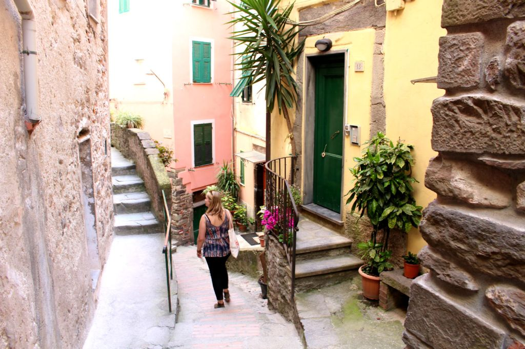 The Glittering Unknown streets of Vernazza Cinque Terre Italy