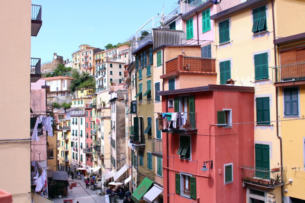 The Glittering Unknown Via Colombo Riomaggiore Cinque Terre Italy