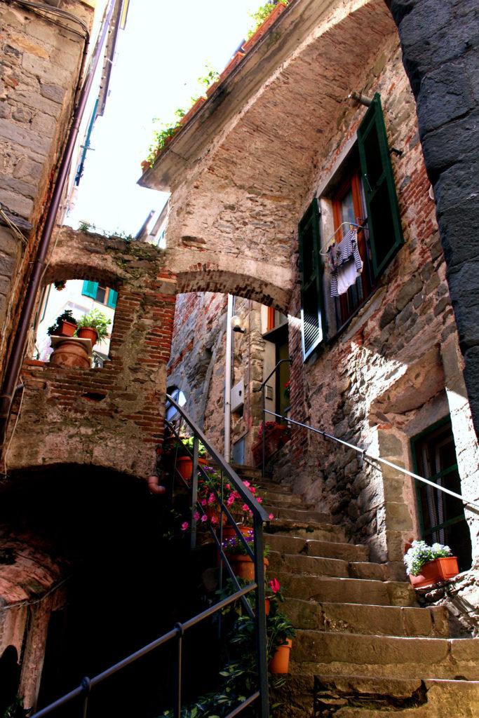 Corniglia Cinque Terre Italy stairs The Glittering Unknown