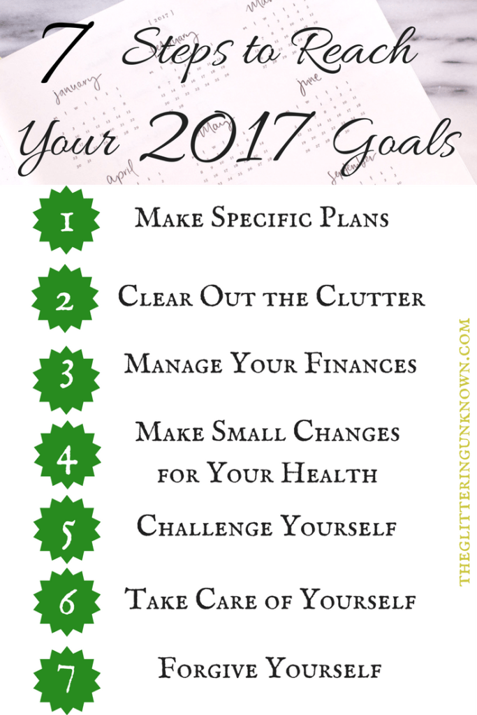 7 Steps to Reach Your 2017 Goals