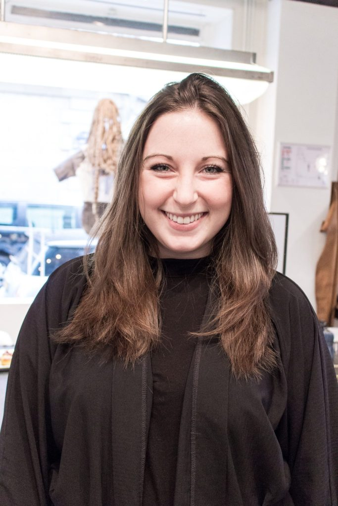 After the cut, Studio Marisol- The Best English Speaking Hair Salon in Paris