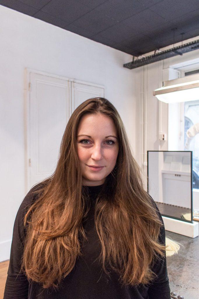 Before the chop, Studio Marisol- The Best English Speaking Hair Salon in Paris