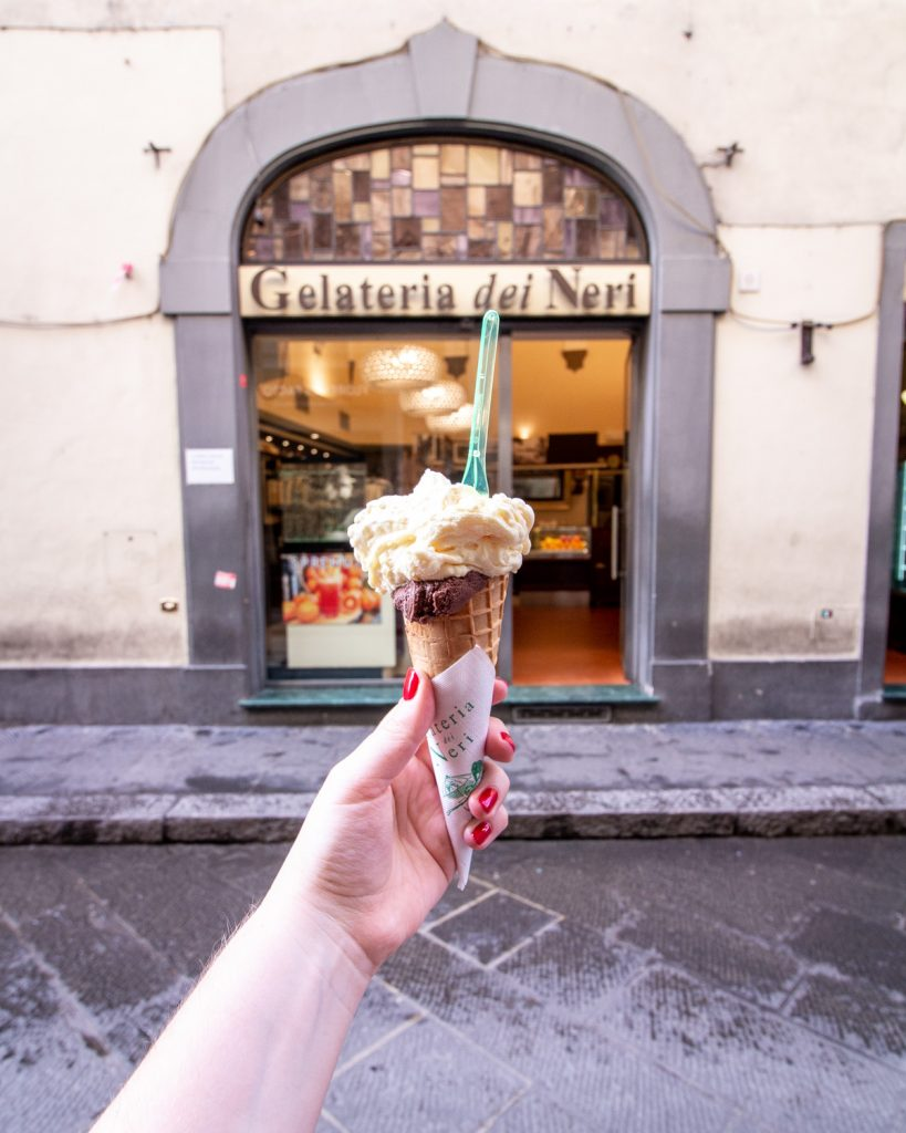 Gelateria dei Neri- Where is the Best Gelato in Florence?