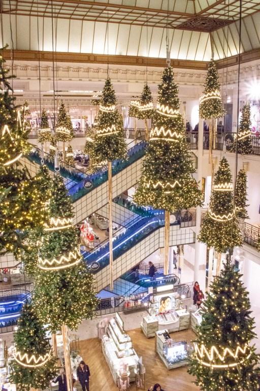 Le Bon Marché Rive Gauche- Christmas Decorations in Paris