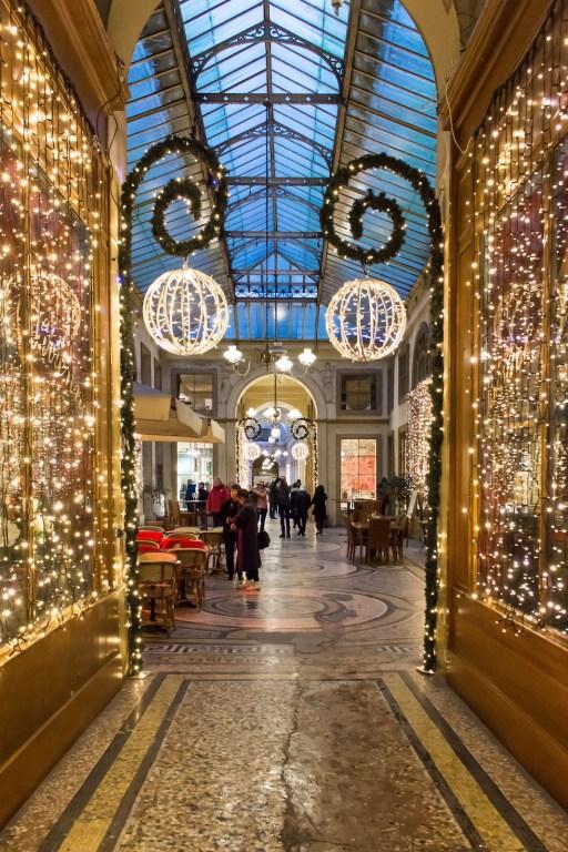 Christmas Decorations in Paris- Galerie Vivienne