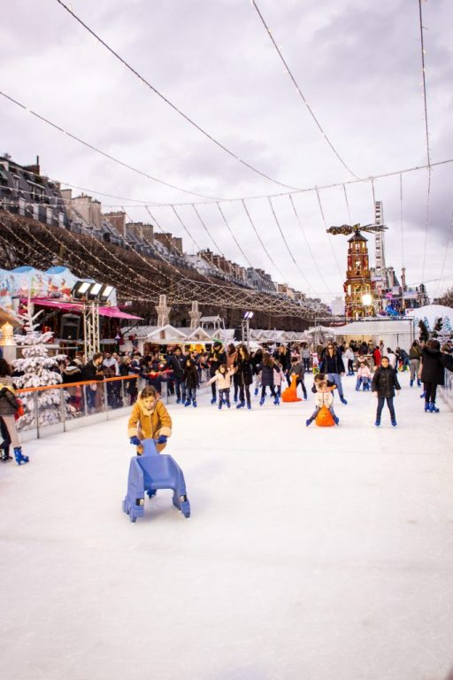 Where to Go Ice Skating in Paris- Jardin des Tuileries