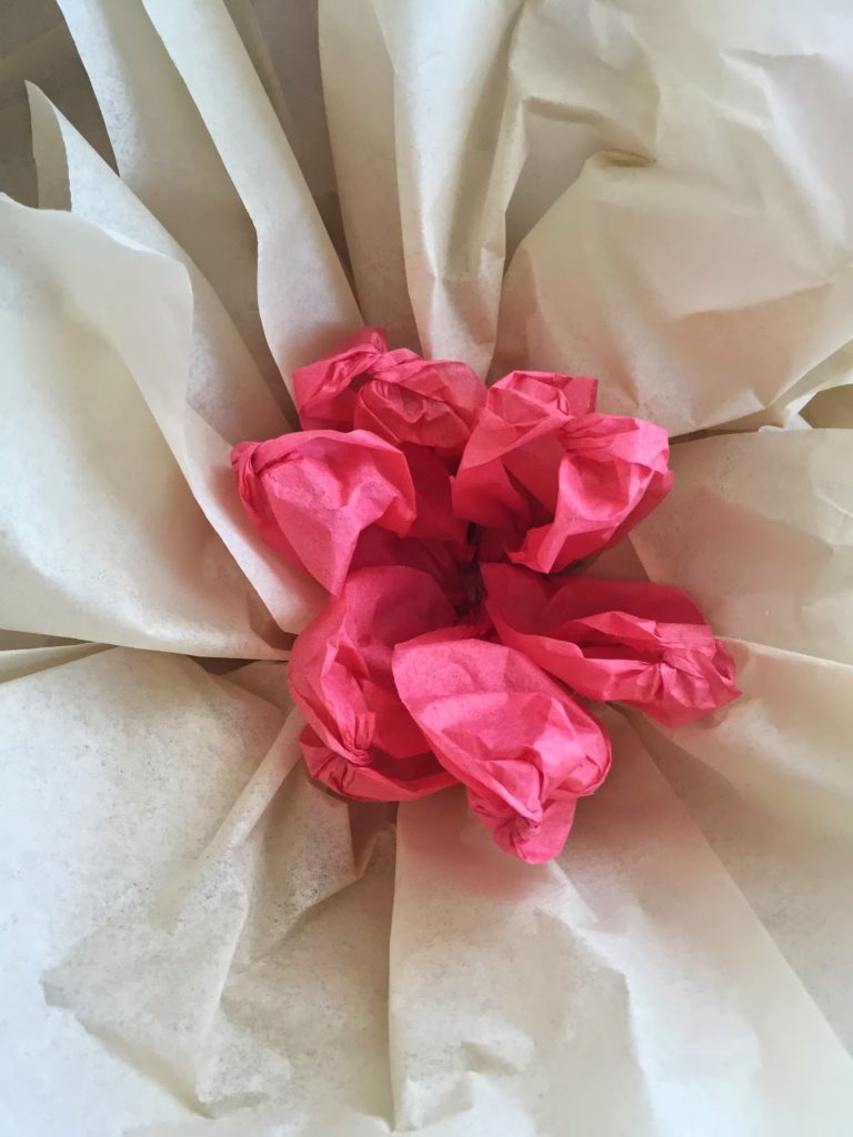 How to make giant tissue paper flowers the glitzy pear how to make giant tissue paper flowers party decor wedding garden decor easy mightylinksfo