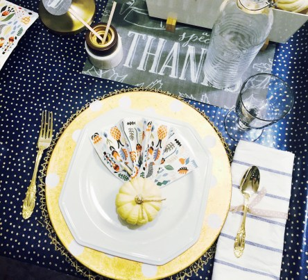 modern table setting, thanksgiving printables, printables for adult thanksgiving, Thanksgiving tablescapes, thanksgiving centerpieces, ikea hacks, gold table settings, inexpensive table setting ideas