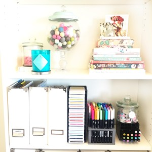 close to my hearts organizing system, organizing, craft room makeover, craft room organization, paper organization, craft room,