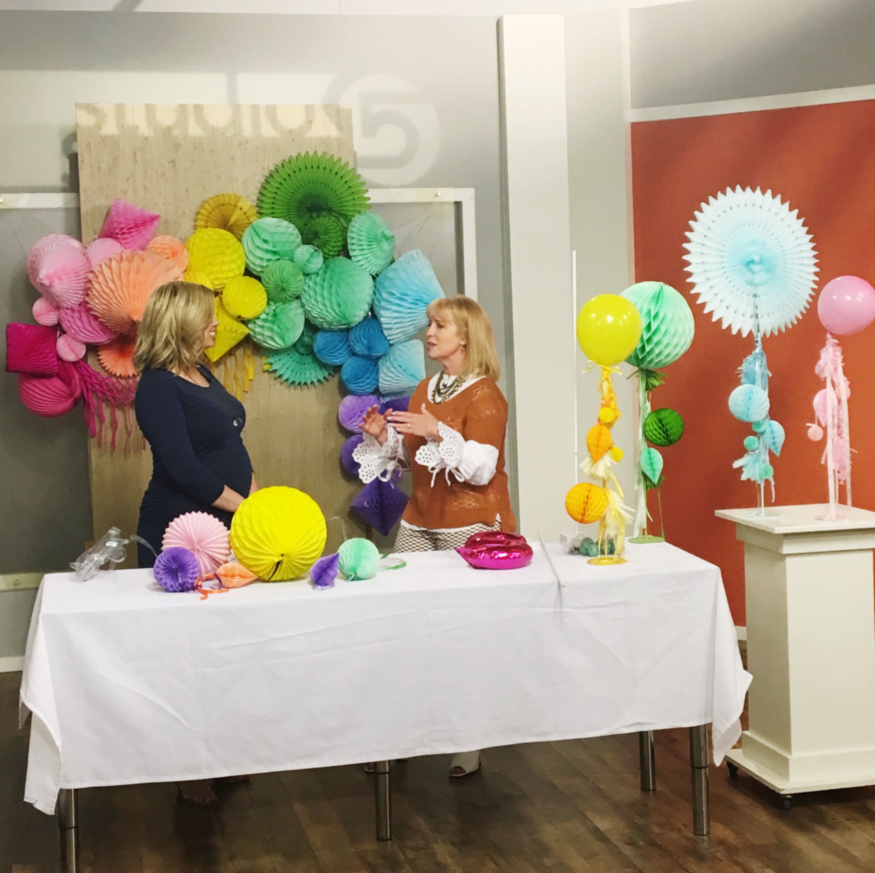 Honeycomb Tissue Paper Balls Party Decorations How To Hang A