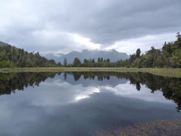 Our photo of Lake Matheson