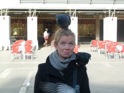 Pigeons in St Mark's Square
