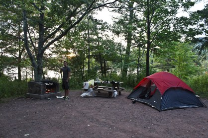 Camping in NY state