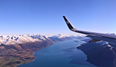queenstown from the air