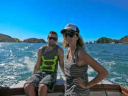 Boating in the Bay of Islands