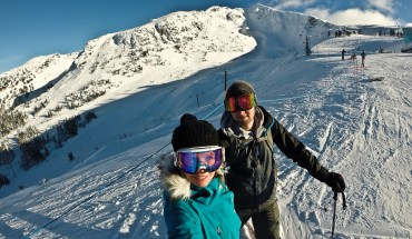 Skiing at Blackcomb